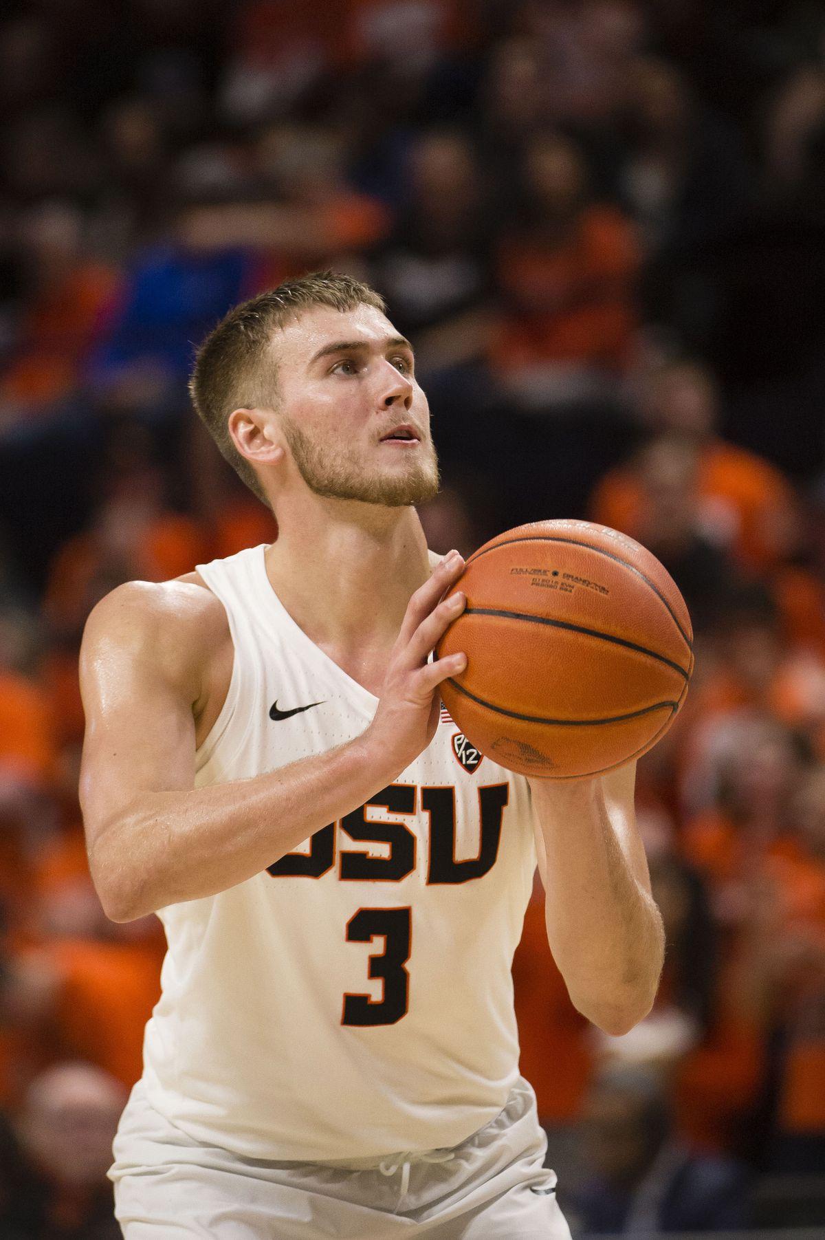NCAA Basketball: Arizona State at Oregon State