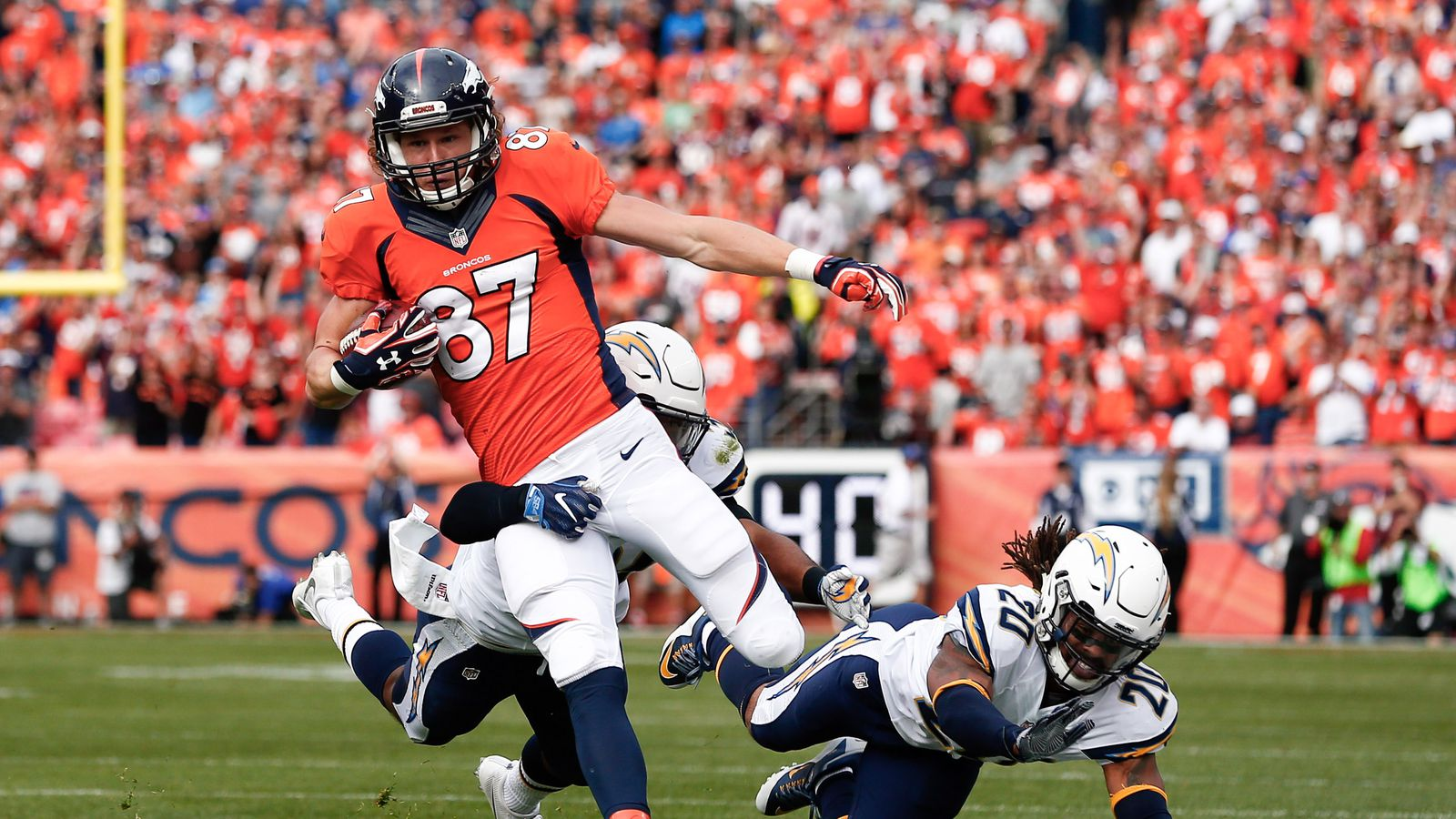 San Diego Chargers At Denver Broncos Second Half Mile