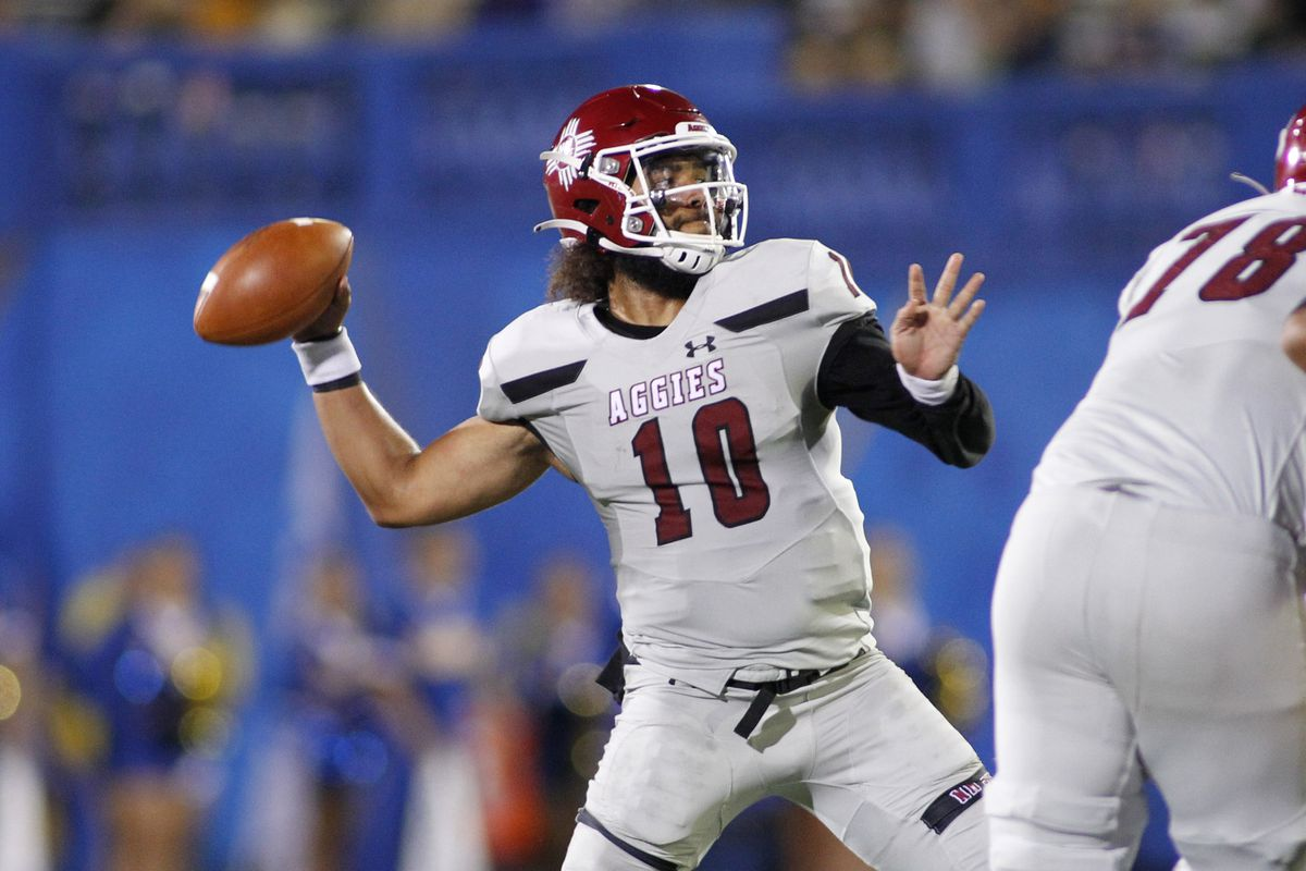 COLLEGE FOOTBALL: OCT 02 New Mexico State at San Jose State