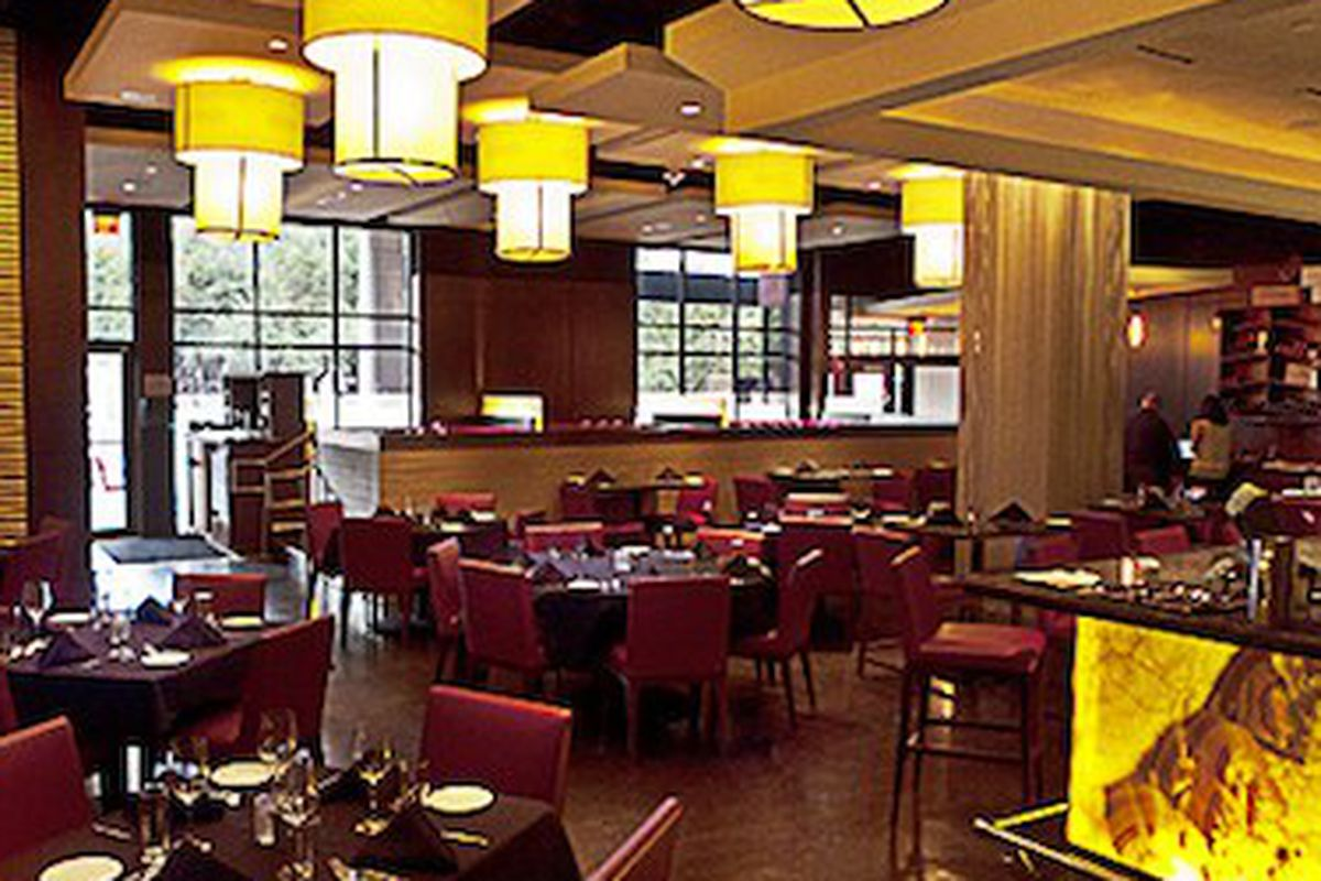 The interior of Samba Grille, aka Best Steakhouse winners.