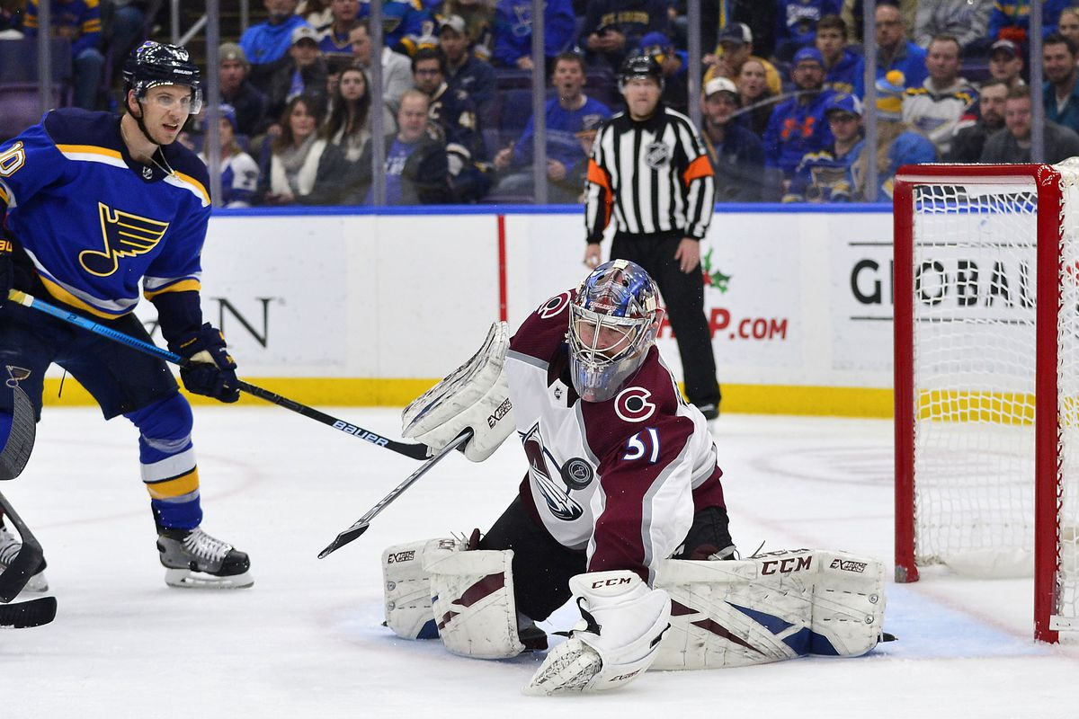 NHL: Colorado Avalanche at St. Louis Blues