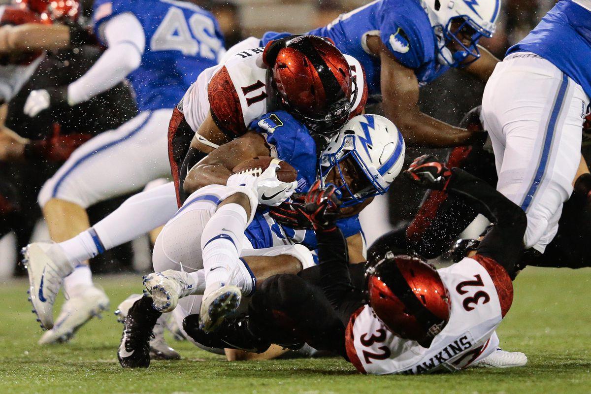 NCAA Football: San Diego State at Air Force