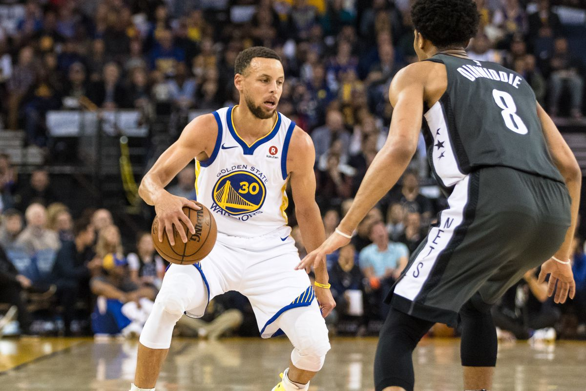 Warriors lose Stephen Curry with sprained right ankle, but they'll be alright