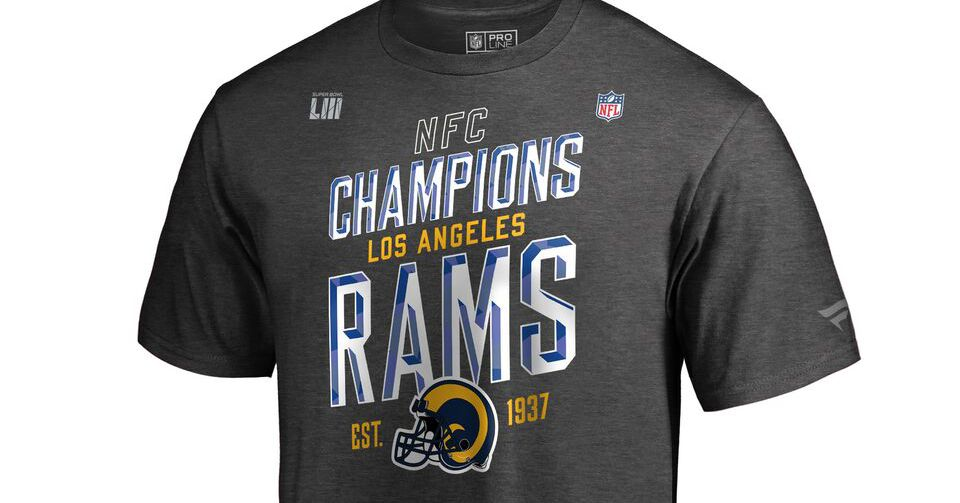 NFC Championship 2019  Celebrate the Rams  win with new gear and merch -  SBNation.com 9f42fe167