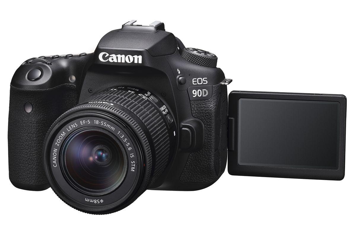 Canon announces 32-megapixel 90D DSLR and mirrorless M6 Mark