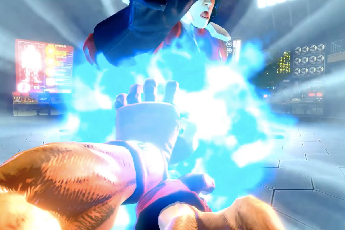 Ultra Street Fighter 2 for Switch gets first-person hadoken
