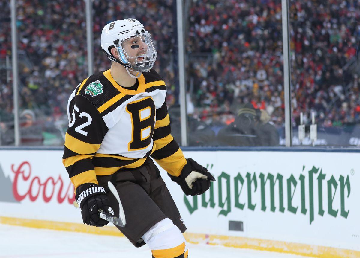 NHL: Winter Classic-Boston Bruins at Chicago Blackhawks