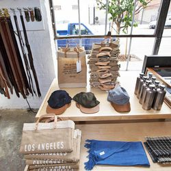 """Up your pedometer count and walk a few blocks north to <a href=""""http://www.apolisglobal.com/common-gallery/"""">Apolis: Common Gallery</a> (806 E 3rd Street), where you'll find an array of ethically-made men's merch, accessories, gifts and more crafted by ar"""