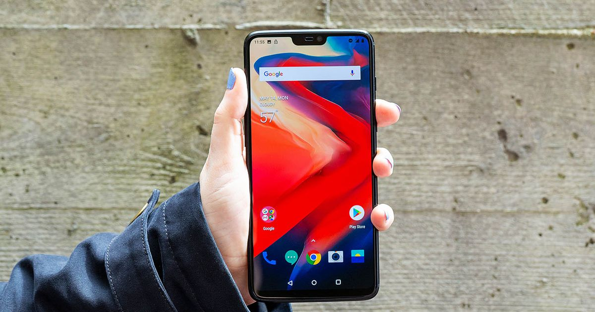 OnePlus 6 Announced with a Glass Back and a Notched 6.3-inch Display