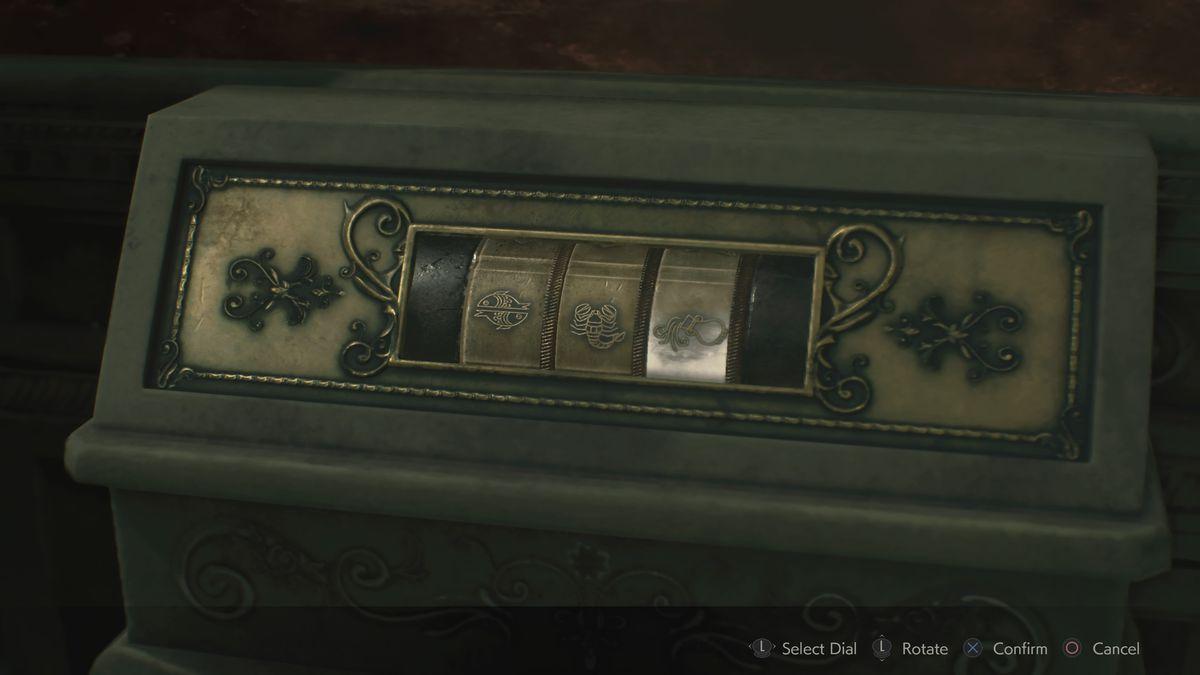 Resident Evil 2 Unicorn Statue puzzle solution