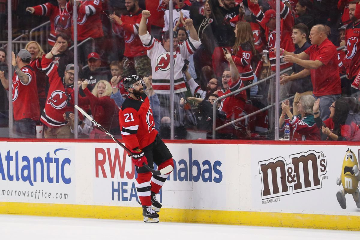 new jersey devils gloriously dominated the washington capitals in