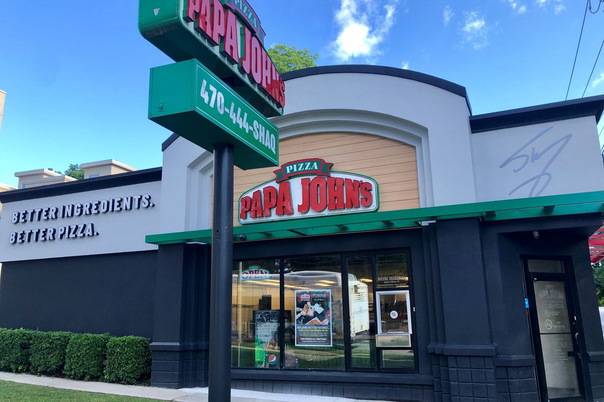Shaq's State Street Papa John's in Midtown Atlanta