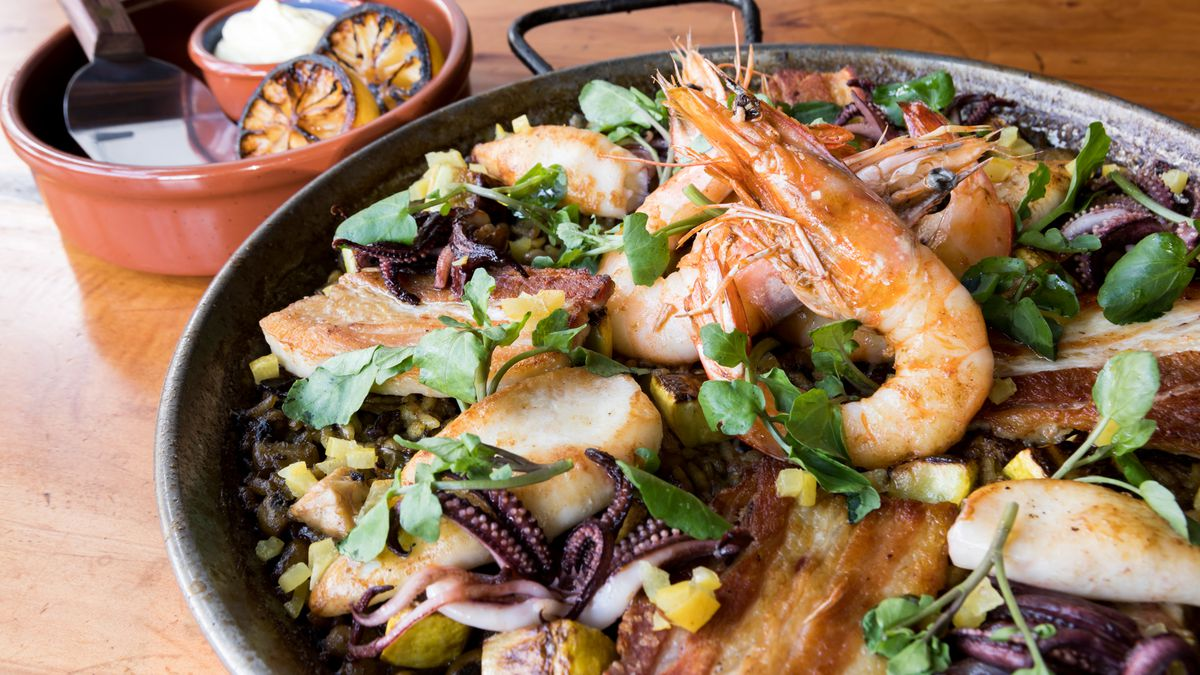 Cocktails Eclipse The Paella At Sf S Newest Spanish