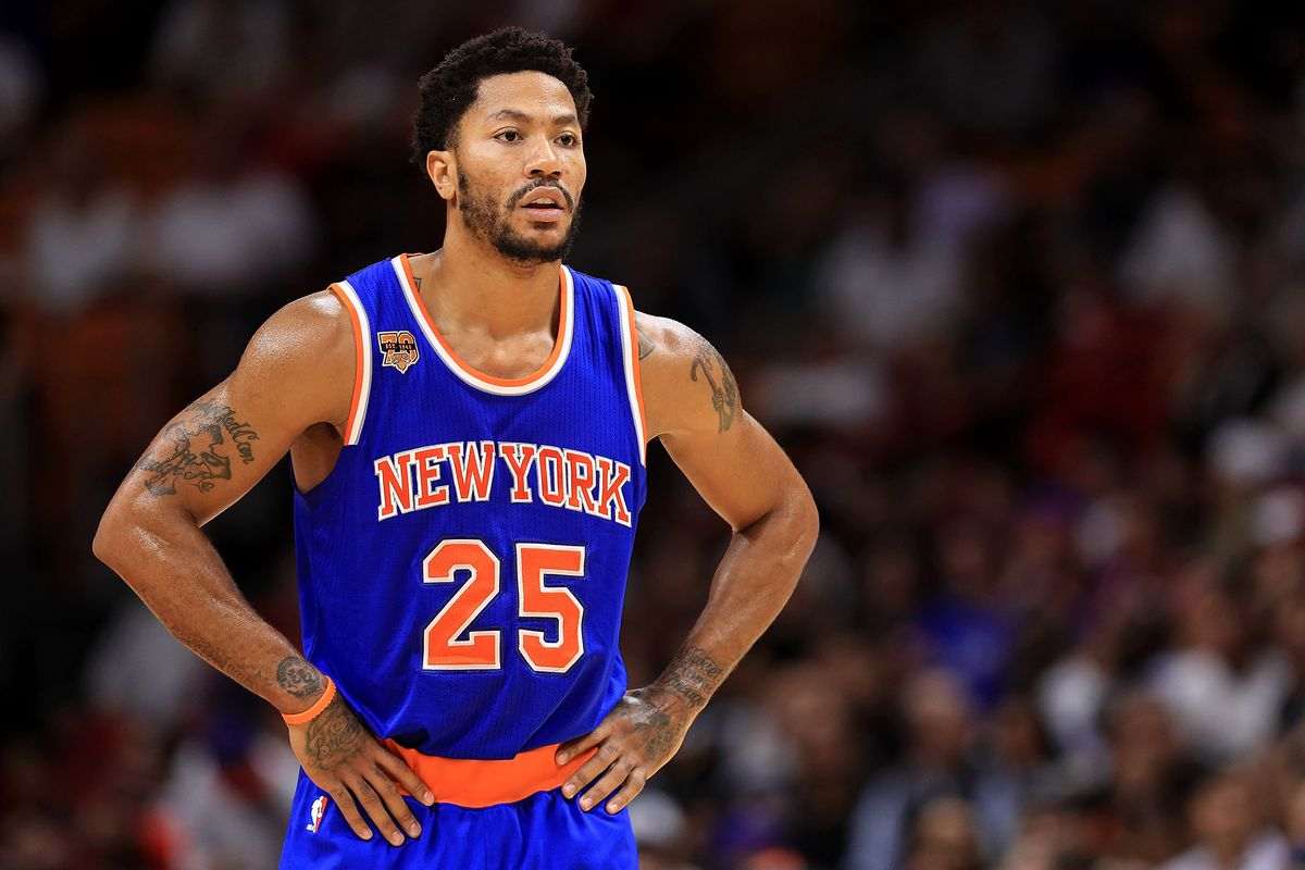 Cavs reportedly looking to sign Derrick Rose