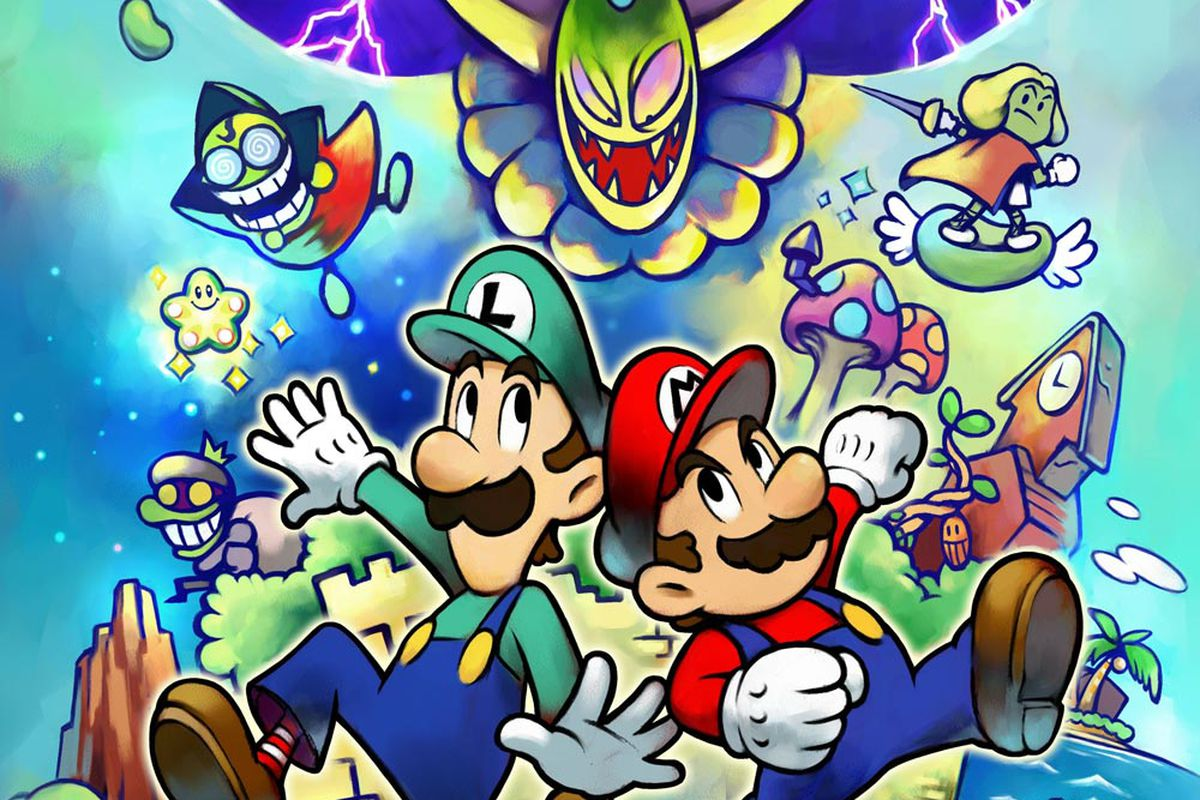 Mario And Luigi Superstar Saga Data Found On Nintendo 3ds