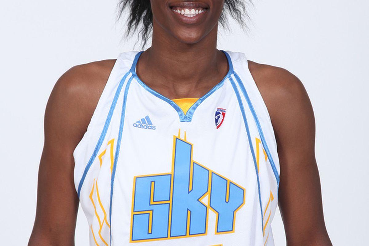 Sylvia Fowles, Chcago Sky Center (Photo via WNBA/Chicago Sky)
