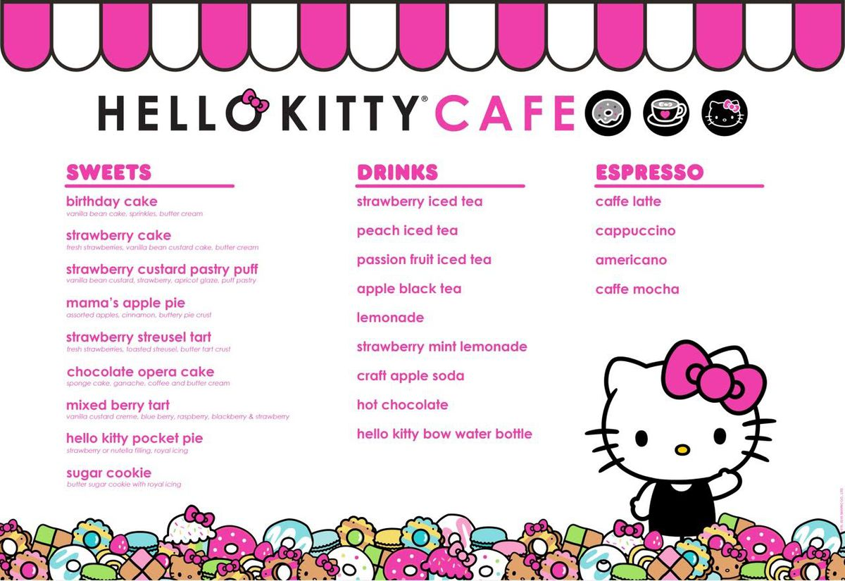 Here S What To Expect At America S First Ever Hello Kitty