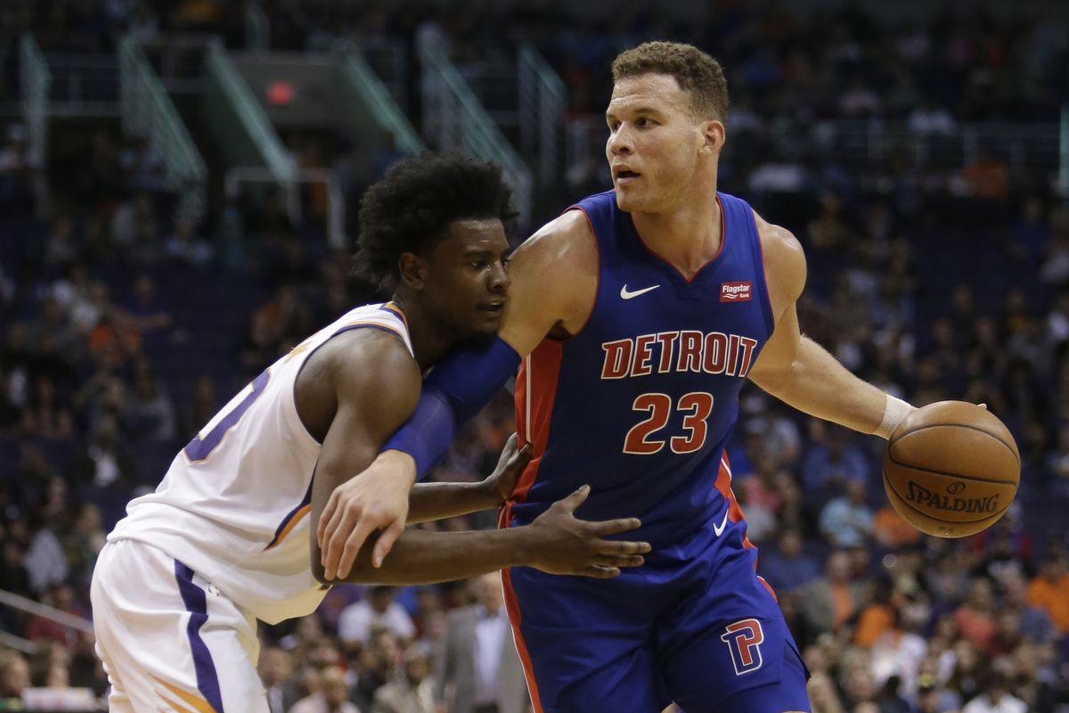NBA: Detroit Pistons at Phoenix Suns