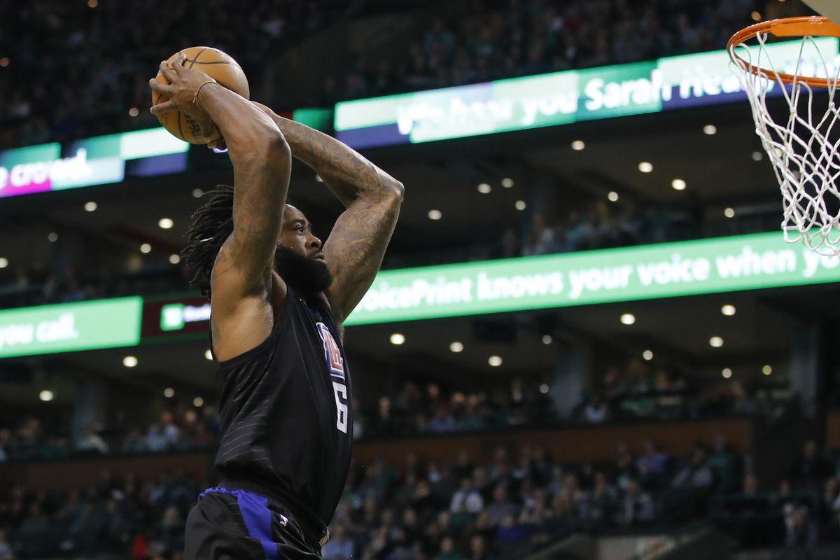 DeAndre Jordan And The Clippers Dunk Celtics 129 119