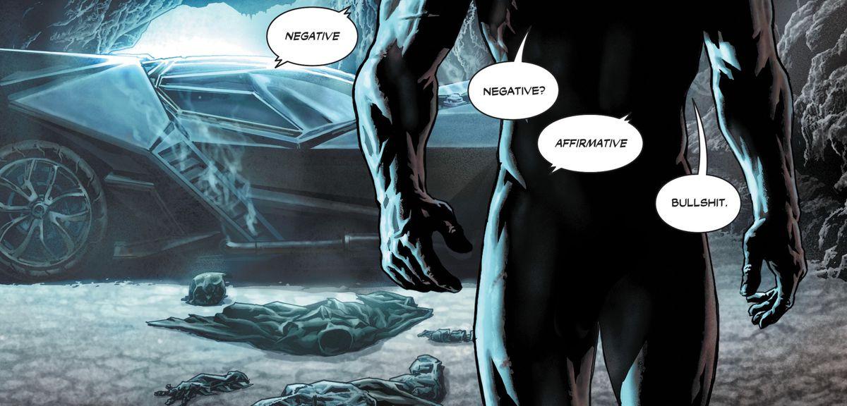 From Batman: Damned #1, DC Comics.