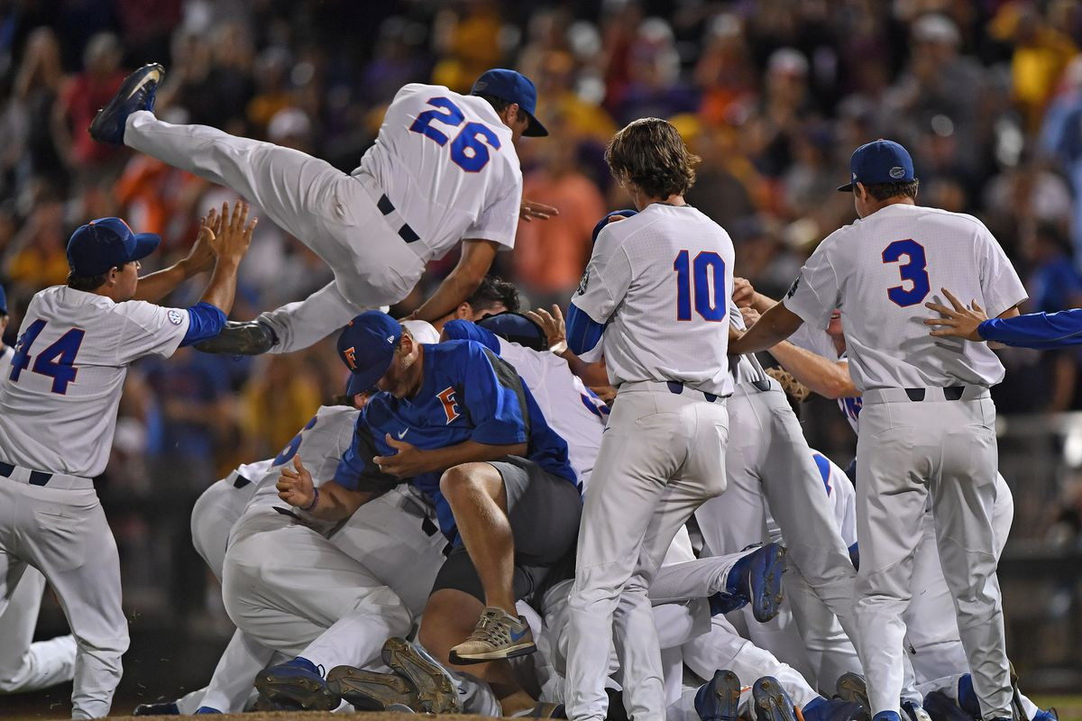 4e8ac4459c2 NCAA Baseball Tournament 2018  Regional round results and schedule ...
