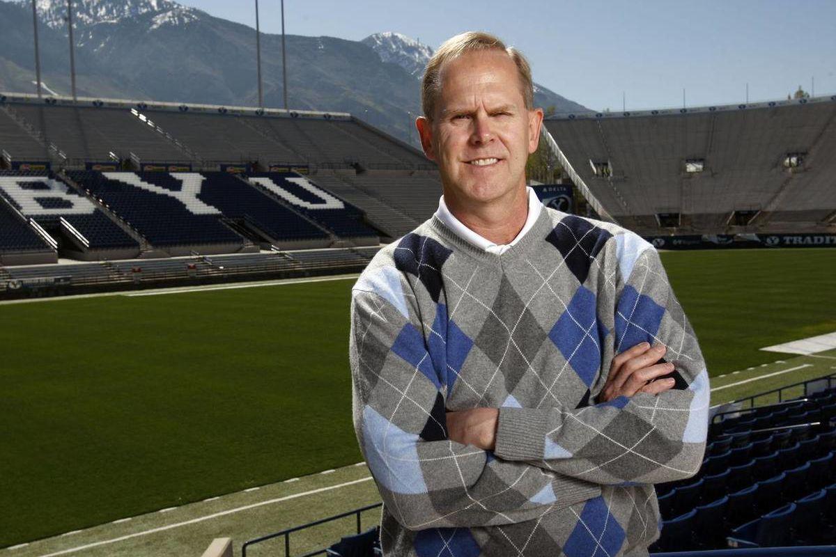 BYU athletic director Tom Holmoe