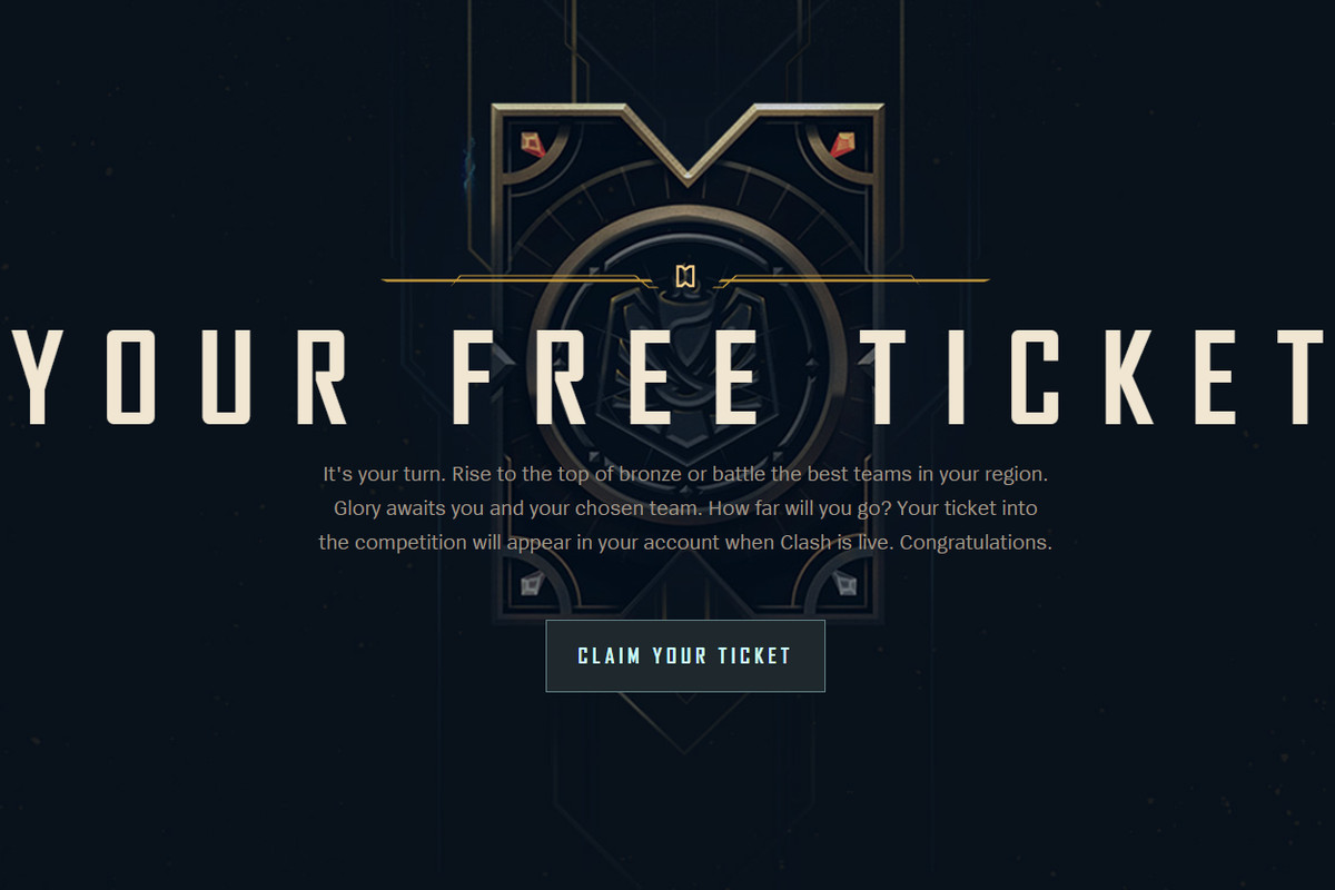 Here's how to get a free Clash ticket - The Rift Herald