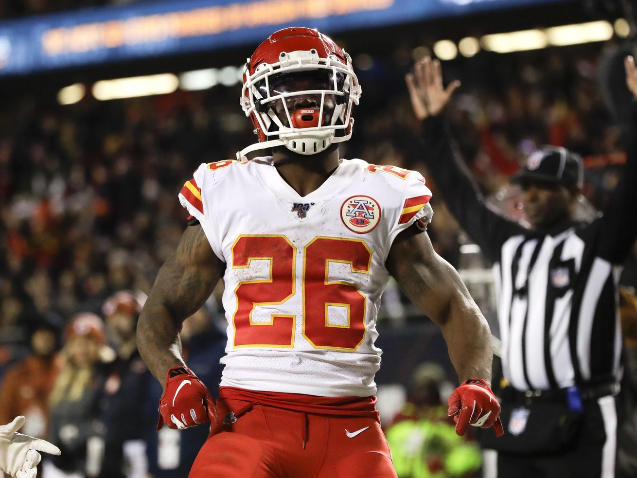 The last time Damien Williams played in a game, he put up 133 yards from scrimmage and scored two touchdowns to help the Chiefs win Super Bowl LIV.