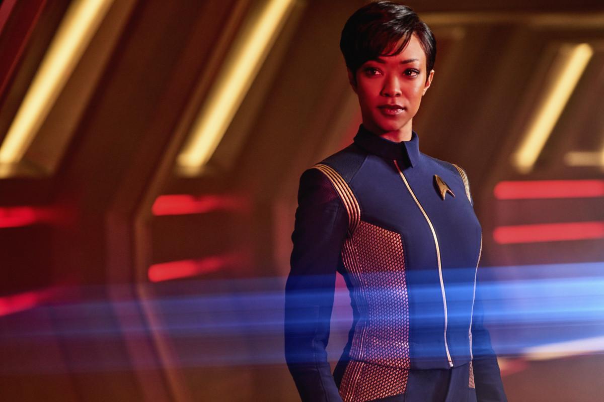 Sonequa Martin-Green as Michael Burnham in 'Star Trek: Discovery'