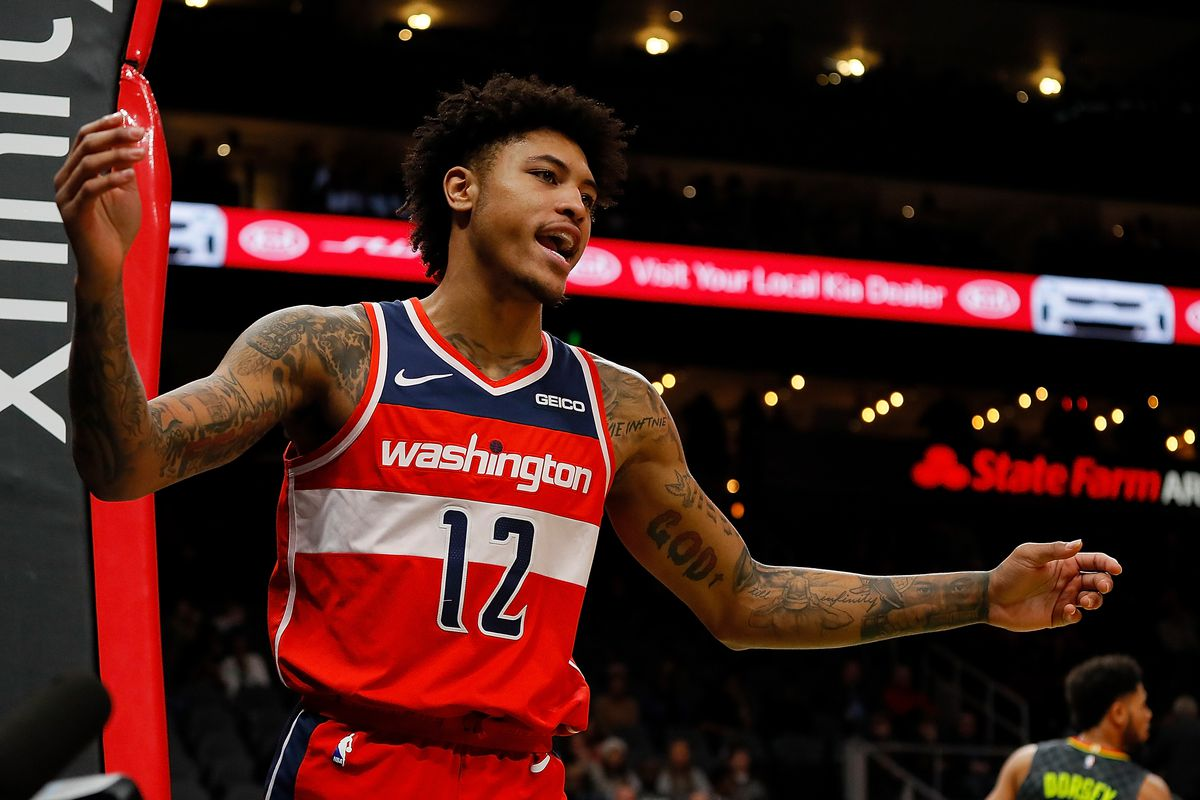 online store 8bb04 93304 Trevor Ariza pouts, Kelly Oubre promises punishment after ...