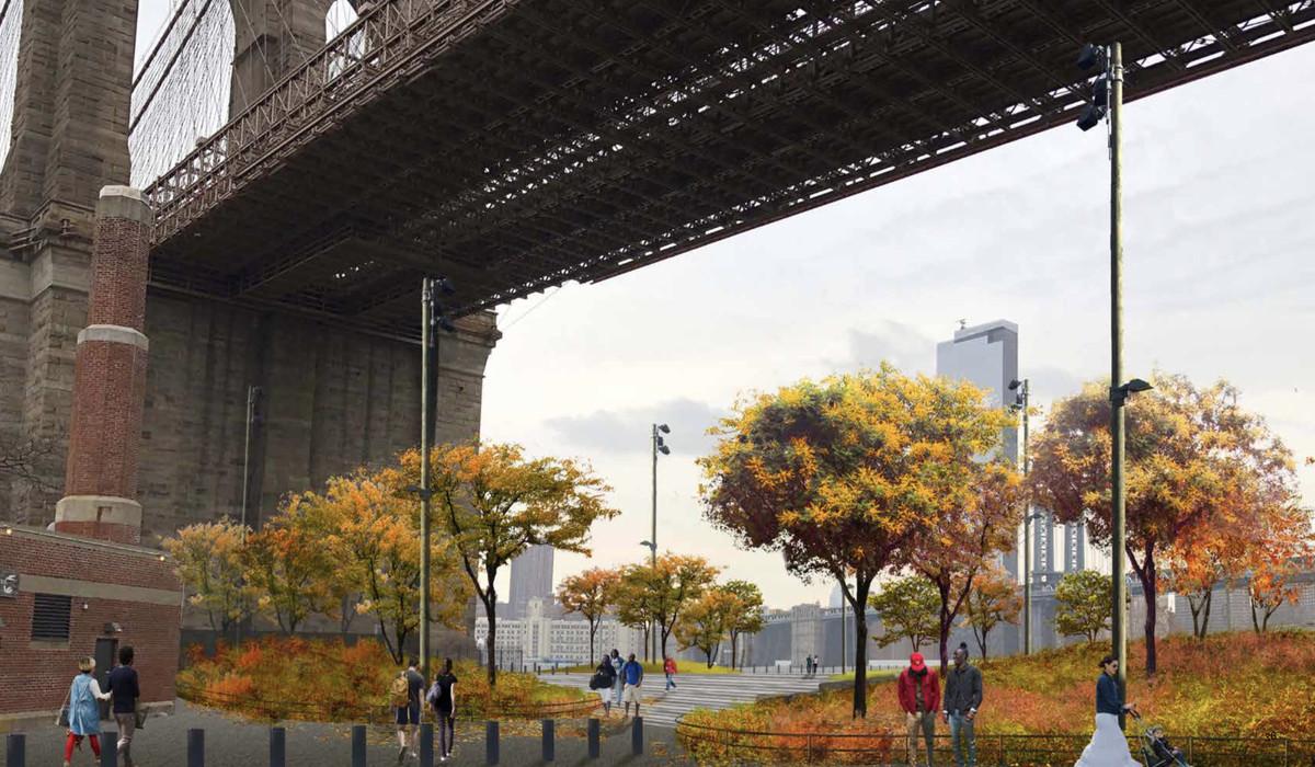 Screen_Shot_2020_05_20_at_7.32.28_AM Under the Brooklyn Bridge, new parkland takes shape