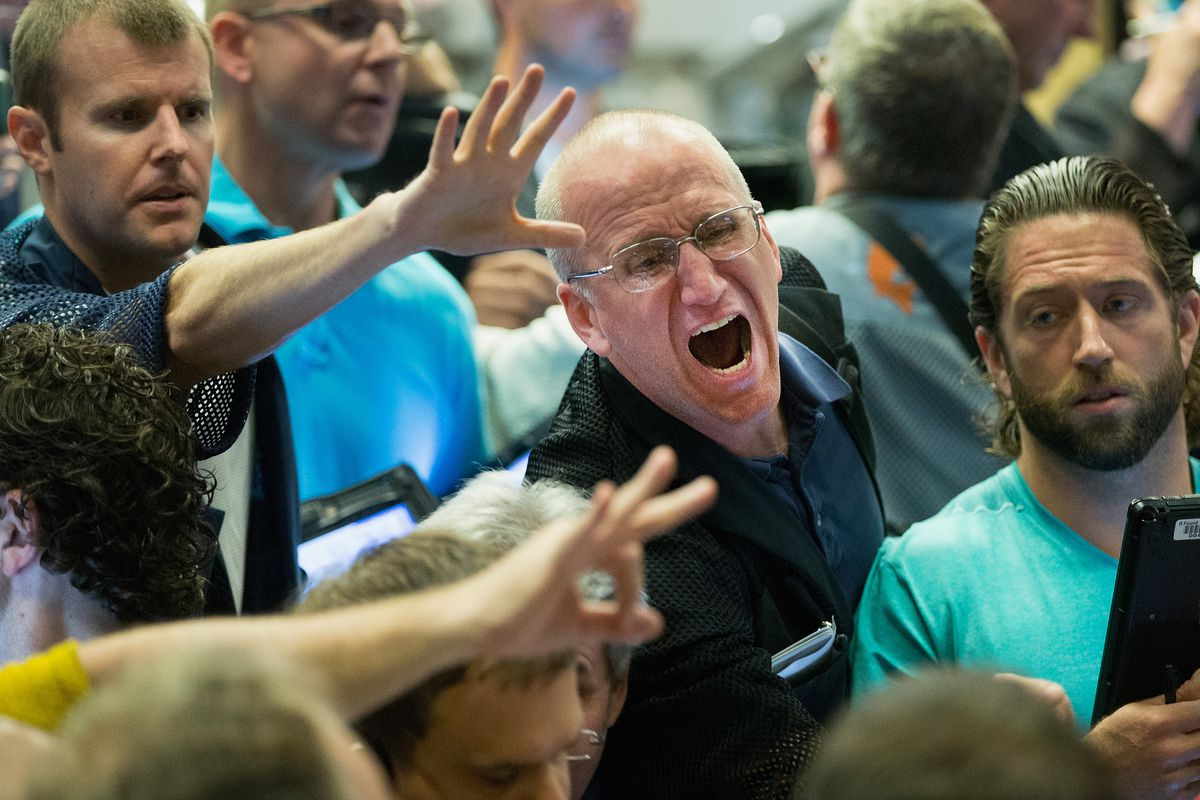 The Chicago Board Options Exchange was pretty intense today.