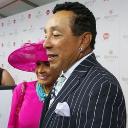 We looked closer, but it wasn't easy to trace the tracks of Smokey Robinson's tears...