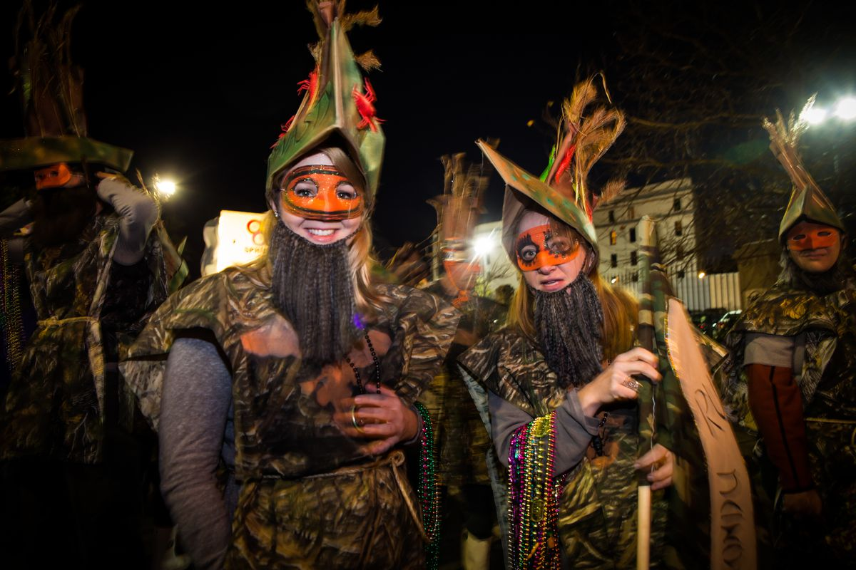 Krewe du Vieux Parade 2014: 'Where the Vile Things Are'