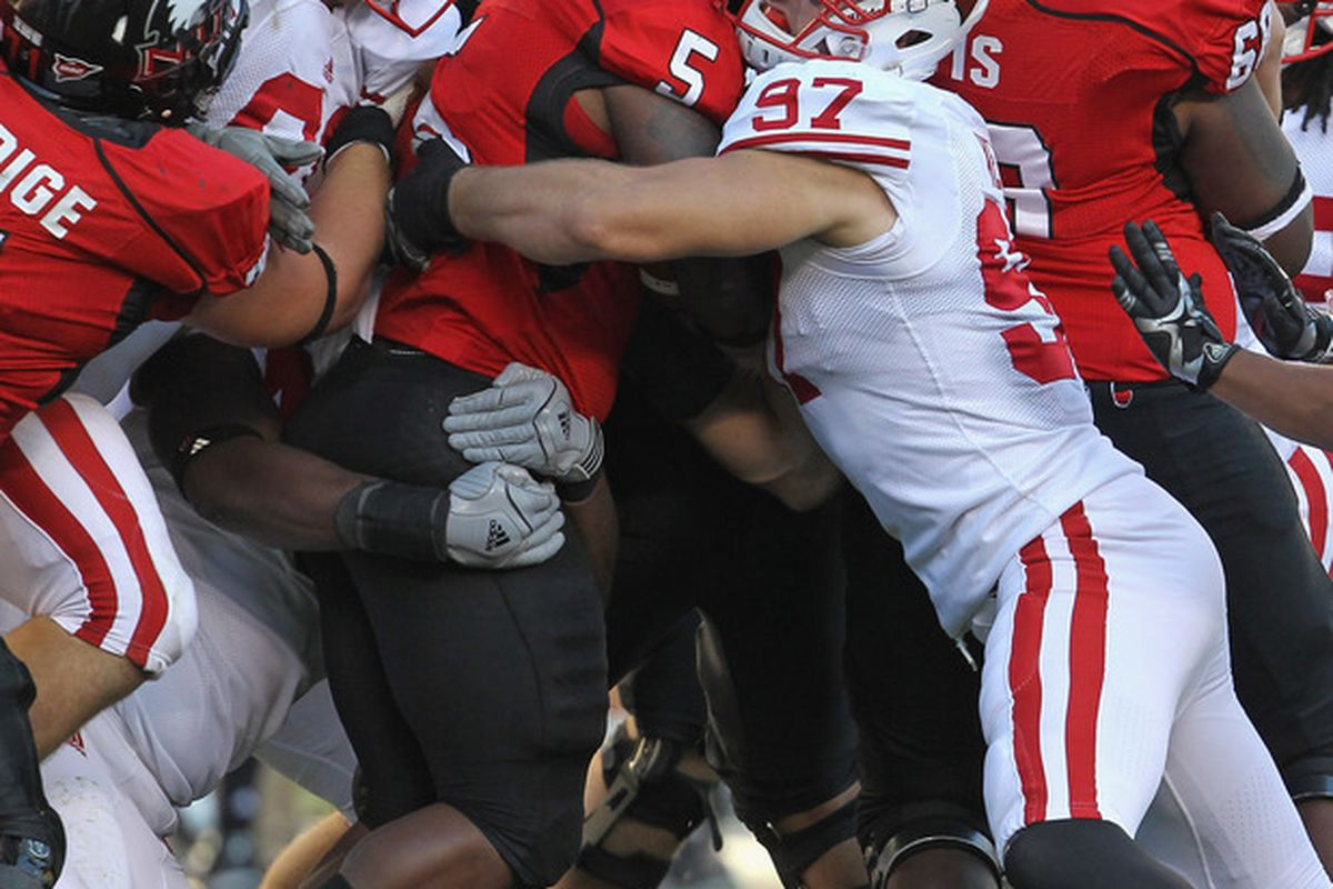 Darius Latham will be the first four-star defensive tackle to play at Wisconsin since Jordan Kohout (91) joined the Badgers in 2009.