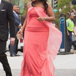 Mindy Kaling in Christian Siriano