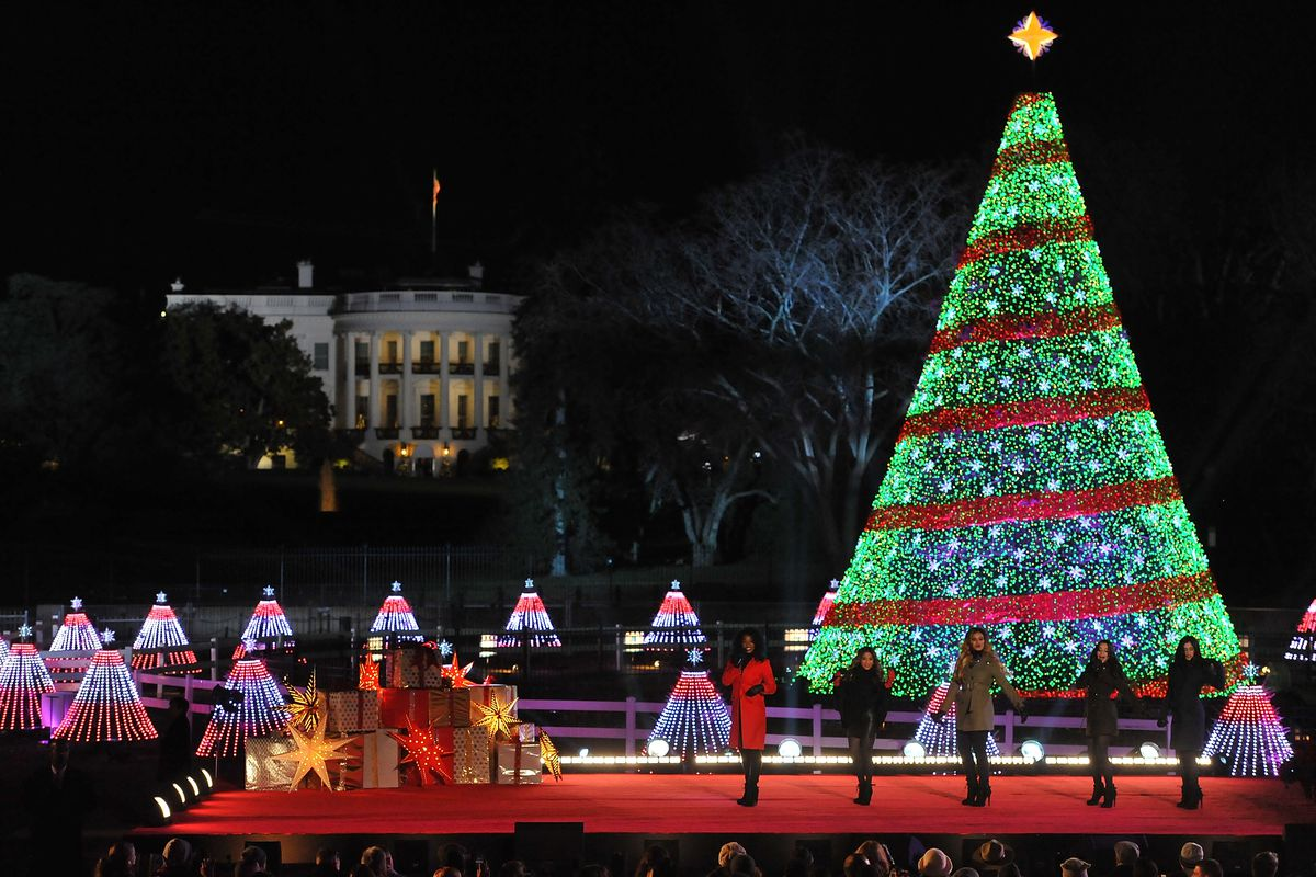 National Park Foundation and Google's 'Made with Code' National Christmas Tree Lightening Ceremony