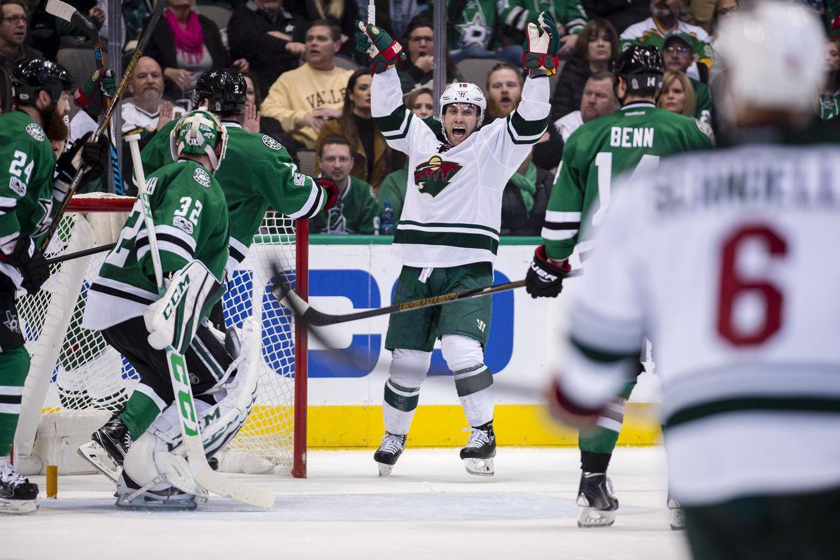 NHL: Minnesota Wild at Dallas Stars