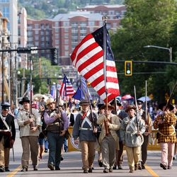 The Days of '47 Parade kicks off in Salt Lake City on Friday, July 23, 2021.