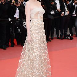 Kirsten Dunst in Valentino spring 2013 couture at the closing ceremony