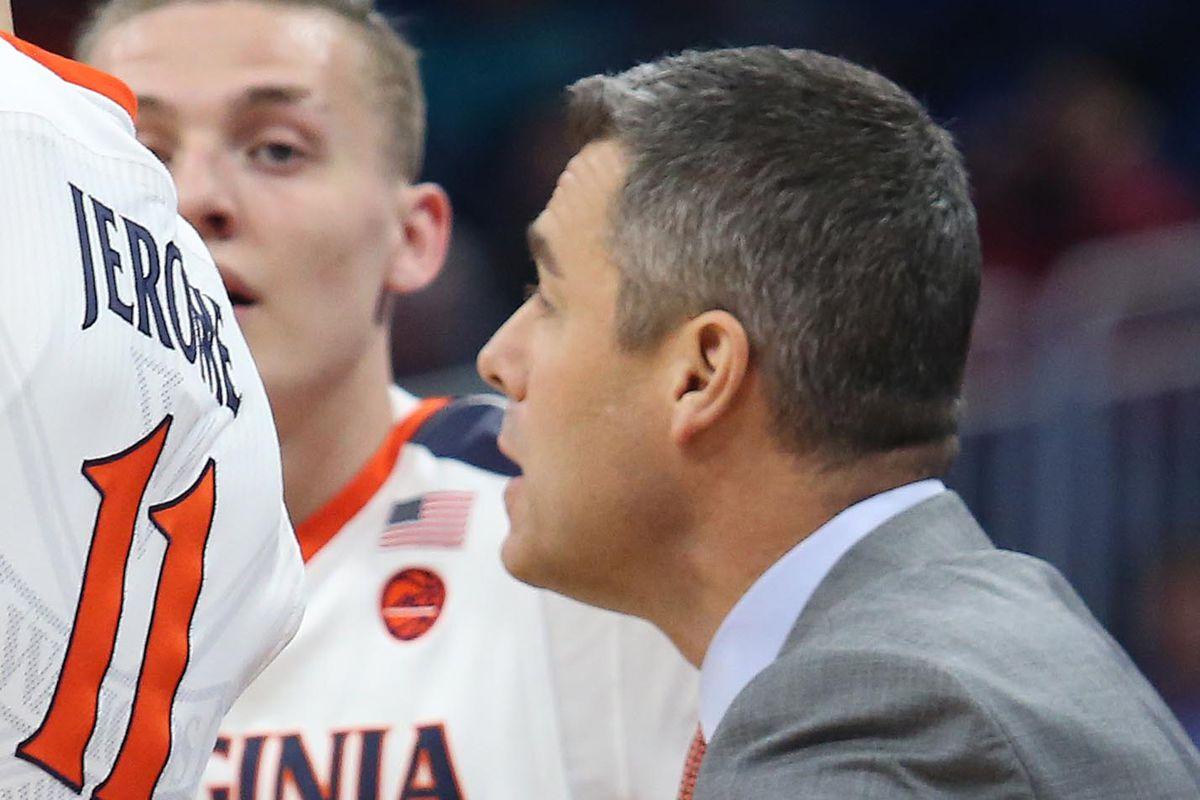 NCAA Virginia versus UNCW men's basketball
