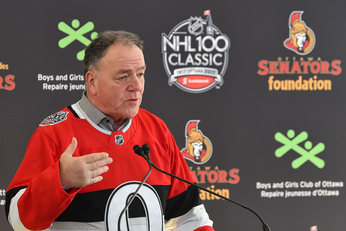 Scotiabank NHL100 Classic - Press Conference & Legacy Project Ground Breaking