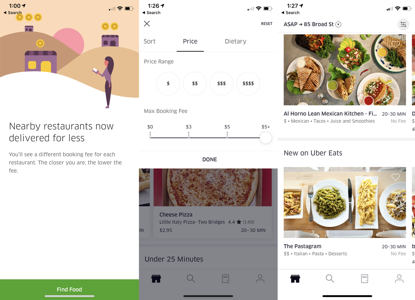 Uber Eats is changing its flat fees to delivery fees based