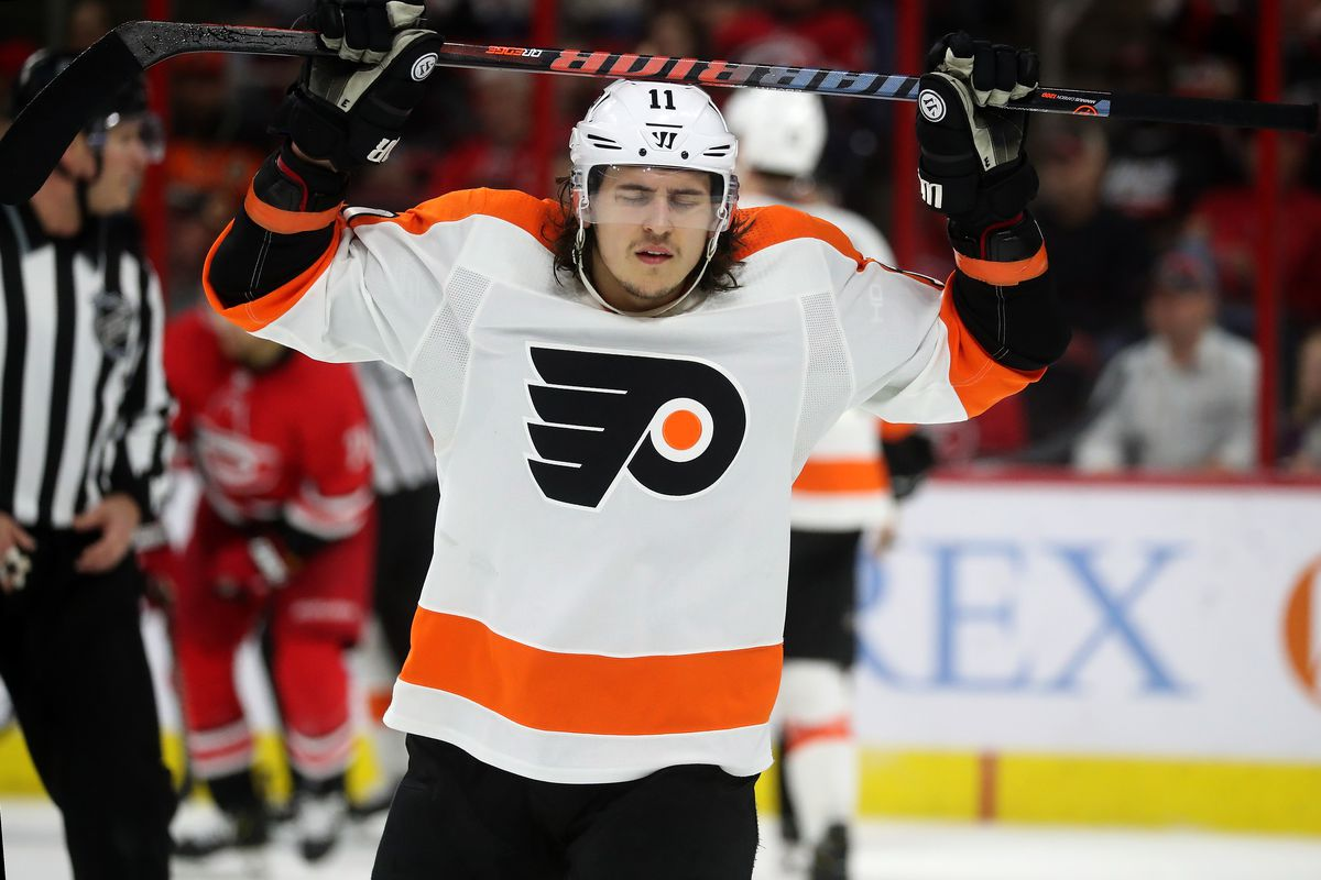 Heading into the second day of Philadelphia Flyers training camp, Travis Konecny does not have a contract
