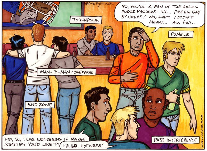 Book Of Cartoons Looks At Sports From A Gay Angle - Outsports-7324