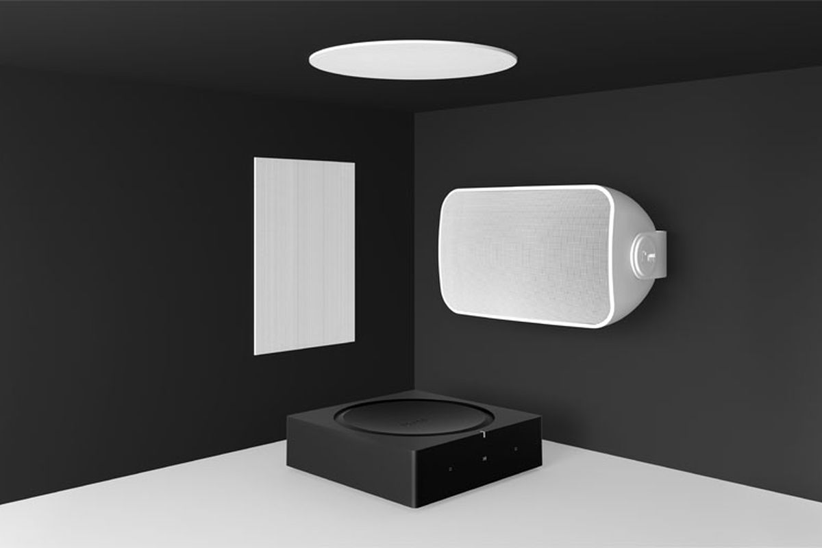 sonos now has an outdoor speaker the verge. Black Bedroom Furniture Sets. Home Design Ideas