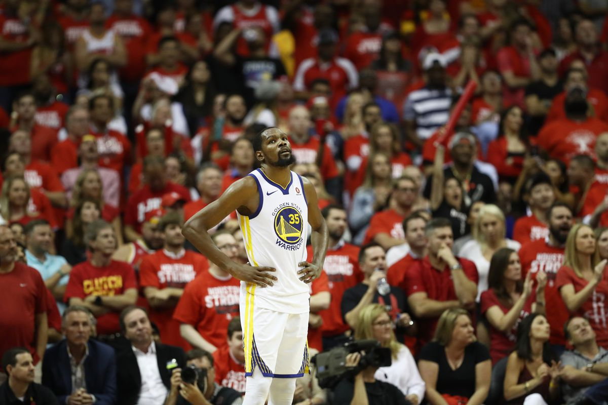 Golden State Warriors v Houston Rockets - Game Five