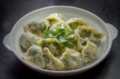 Dumplings from Mama Ji's