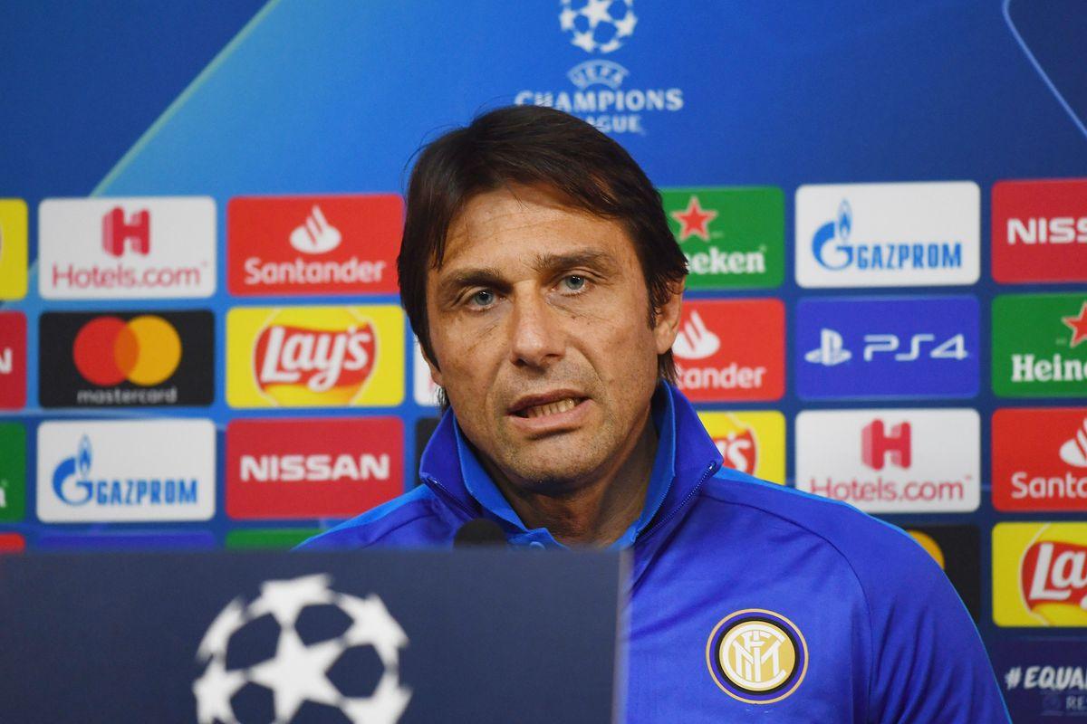 FC Internazionale Training Session & Press Conference