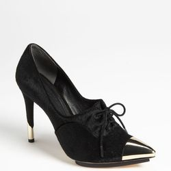 """<a href=""""http://shop.nordstrom.com/s/rachel-roy-bette-pump/3318514"""">The Cap-Toe Bette Pump</a> ($295): """"I really like the strength that the metal toes and heels give. These are one of my go-to shoes."""""""